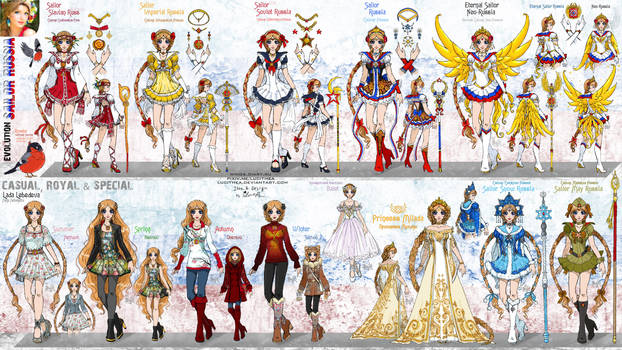 OC - SailorRussia - Full concept by Lucithea