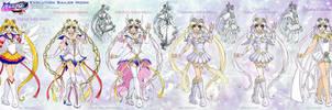 SMA: SailorMoon evolution by Lucithea