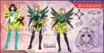 YCH-Anti: Celestial Sailor Aquila by Lucithea
