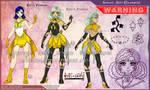 YCH-Anti: Sailor Celandine by Lucithea