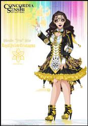 Concordia: Self-Senshi [RoyalYellowTristagma] by Lucithea