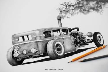 Dodge Rat Rod 1928 by Linkin-13