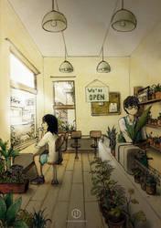 The Plant Shop by AoiCancerius
