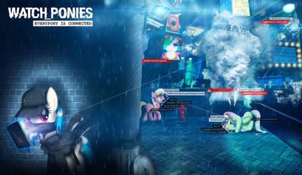 Watch_Ponies by dan232323