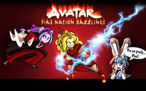Avatar Fire Nation Dazzlings by dan232323