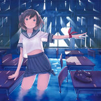 BlueClassroom by yosinori