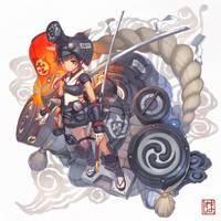 Magical Girl Pug-ugly by yosinori