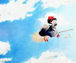 Kiki's Delivery by raylee-arts