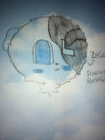 Drawing of Winky face Zuse by KittyMilly1130