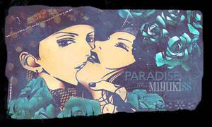Paradise Kiss sign by Miyukia