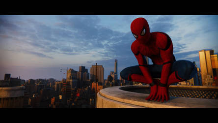 Spider-Man PS4 - Perched by theBmZ