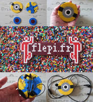 Ecouteur minion by flepi