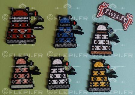 Daleks inspirations by flepi