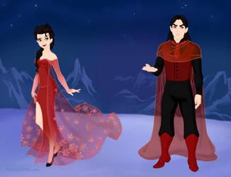 Alucard and his Vampire Queen by QueenoftheLustful