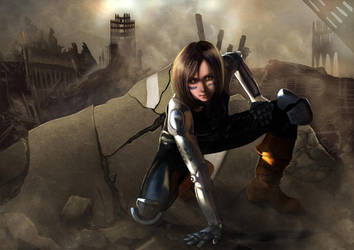 Battle Angel Alita by aresshu
