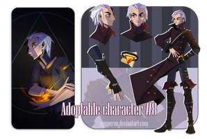 (AUCTION CLOSED) Adoptable character #8 by Eggperon
