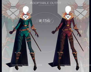 [CLOSED-Auction] Adoptable outfit #156 by Eggperon