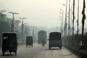 Misty Morning in Pakistan by SalmasPhotos