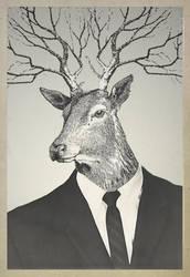 deer by NickDart