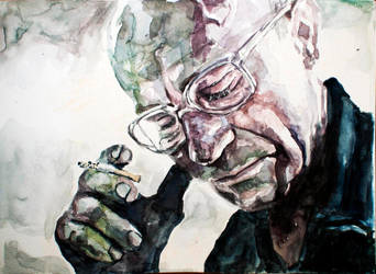 Miner. Watercolour by StefanRess