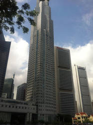 Singapore Business district 1 by nuclearwar3