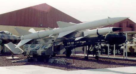 S-75 Dvina SAM launcher by nuclearwar3