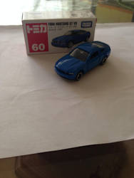 Tomica Ford Mustang by nuclearwar3