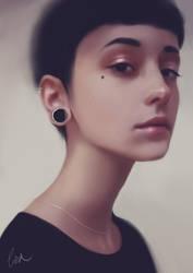 Portrait by lizavanrees
