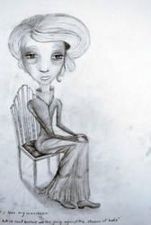 I shall sit and enjoy. by Cazzsegdoh