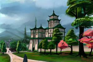 The Elder Scrolls. Morrowind. Mournhold by VorinEpo