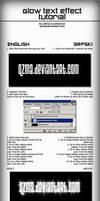 Glow Text Tutorial by Qzma