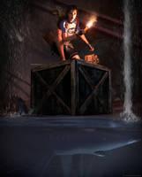 Tomb Raider II  - 40 Fathoms by Larreks