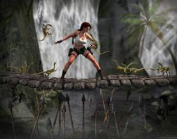 Tomb Raider III - Attack of majority by Larreks