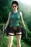 Lara Croft - Tomb Raider Classic by Larreks
