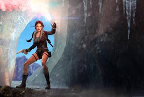 Tomb Raider II - Tibet (Cave) by Larreks