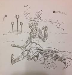 Fly Fly Gryffindor! by imagination-phantom1