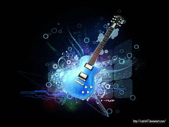 Guitar by Catrin47