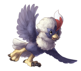 Type Collab: Flying - Rufflet by Krisantyne