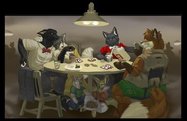 Hiestakes Poker by Lt-Fennec