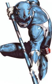 Blue Ranger 2 by Thestickibear