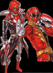 Gokai Red - Let's make this showy! by Thestickibear