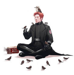 hux's day off by Senkkei