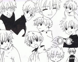 Syaoran Collage by Moonfire56