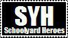 Schoolyard heroes stamp by TopherTastic