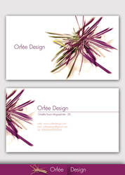 Orfee Design Business Card by Horney