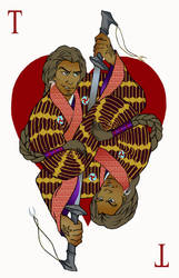 Ace of hearts by nasinix