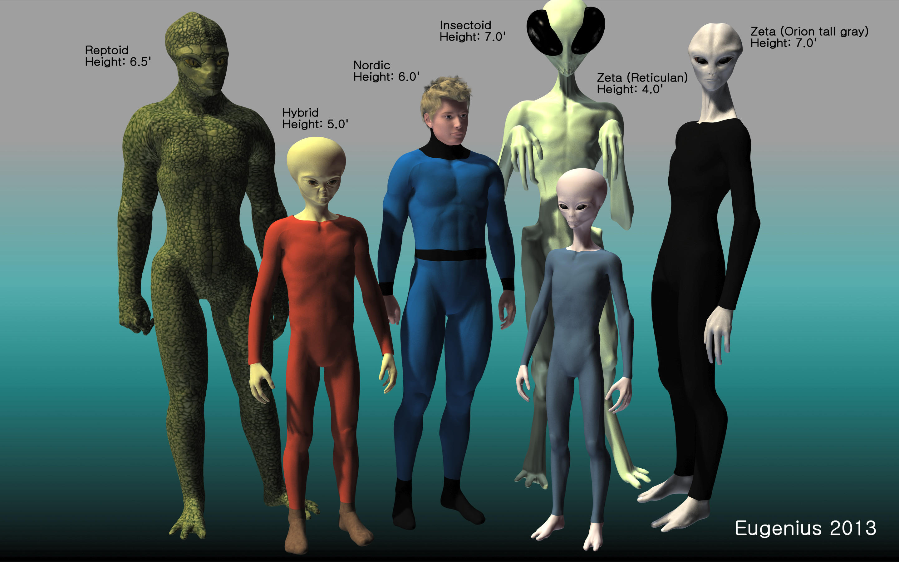 Extraterrestrial Life Forms (version II) by Eugenius330