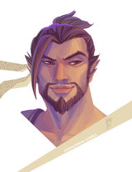 Hanzo by CantonKid