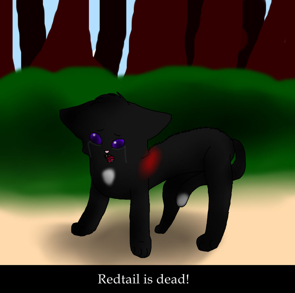 SSSWarriorCats Redtail is dead! by KatieR66