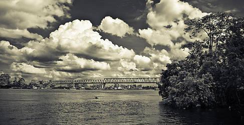 Kapuas River by luag